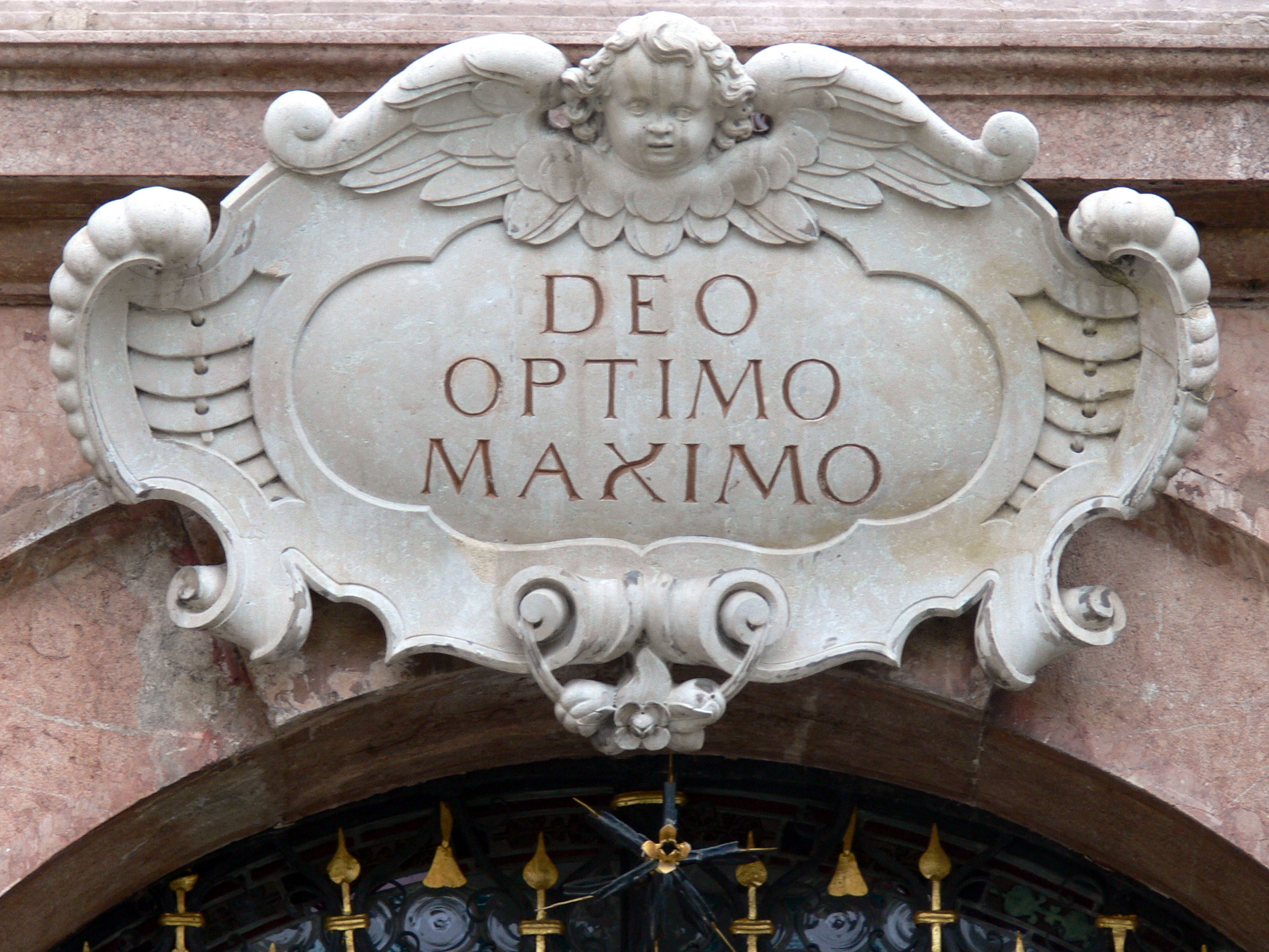 Deo Optimo Maximo Wikipedia