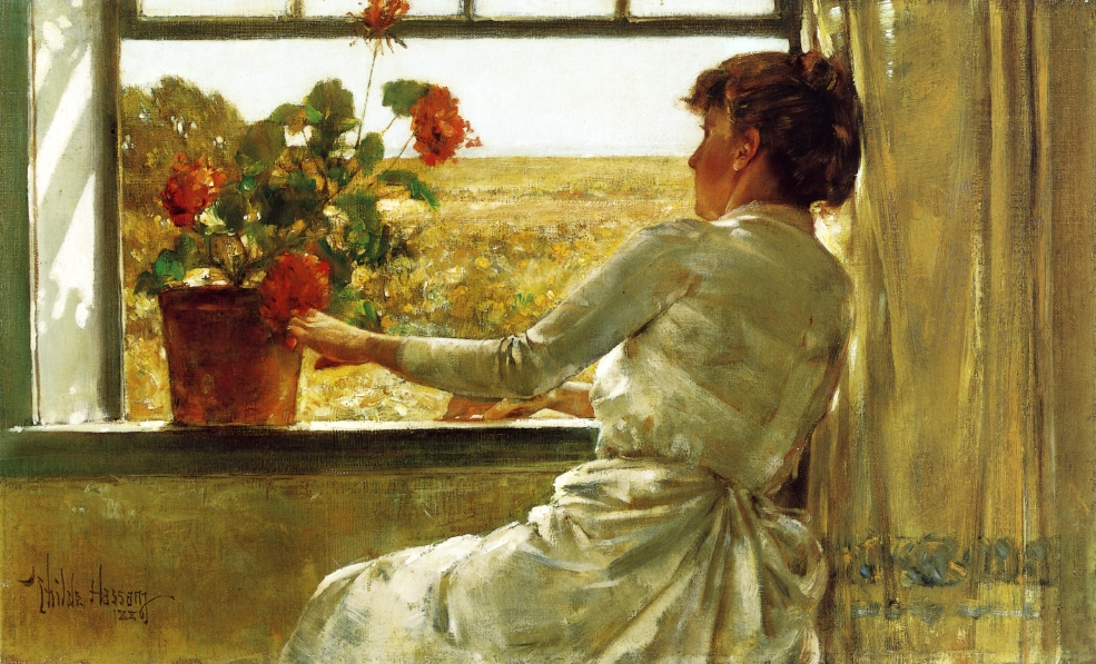 Frederick Childe Hassam - Page 2 Summer_Evening_Frederick_Childe_Hassam_1886