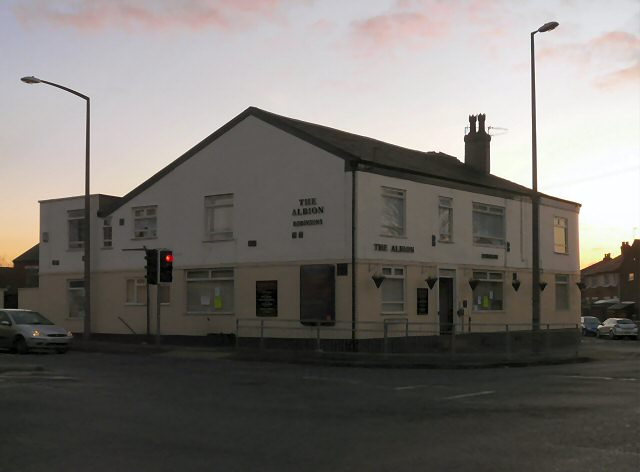 Creative Commons image of The Albion in Dukinfield