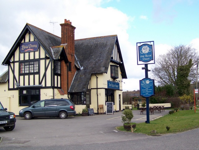 The Blue Vinny Inn, Puddletown - geograph.org.uk - 1177807