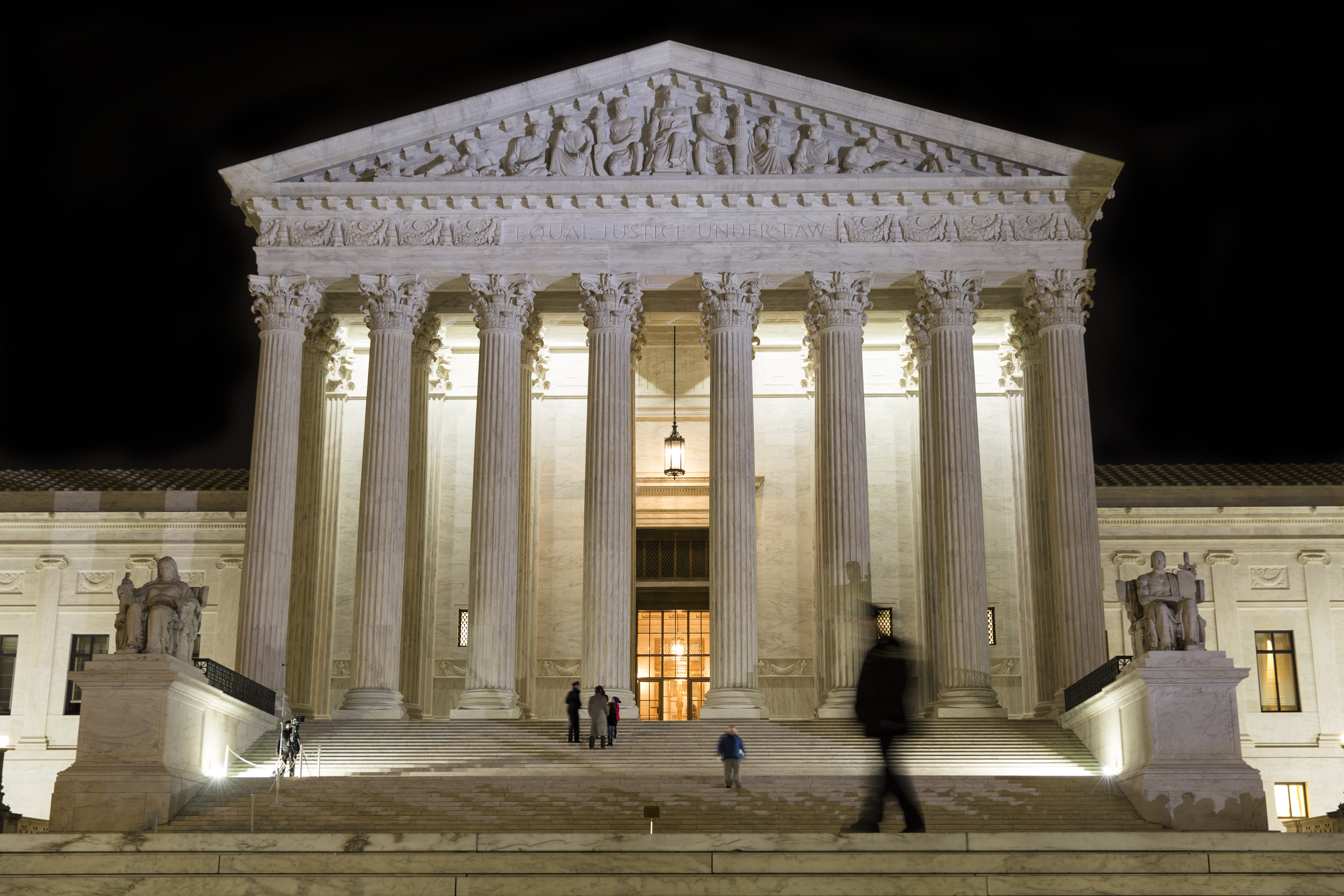 The Supreme Court at Night