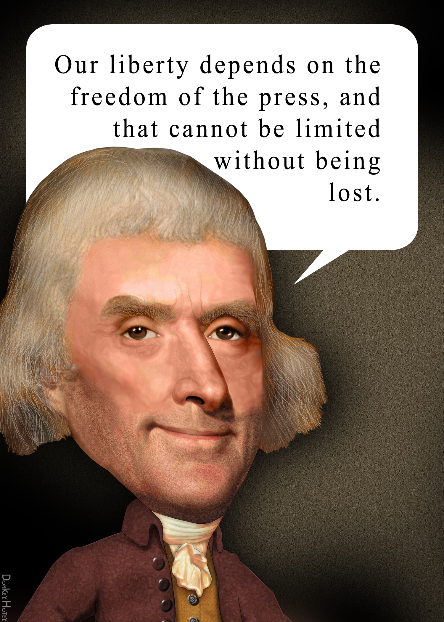 File:Thomas Jefferson freedom of speech quote.   Wikimedia Commons