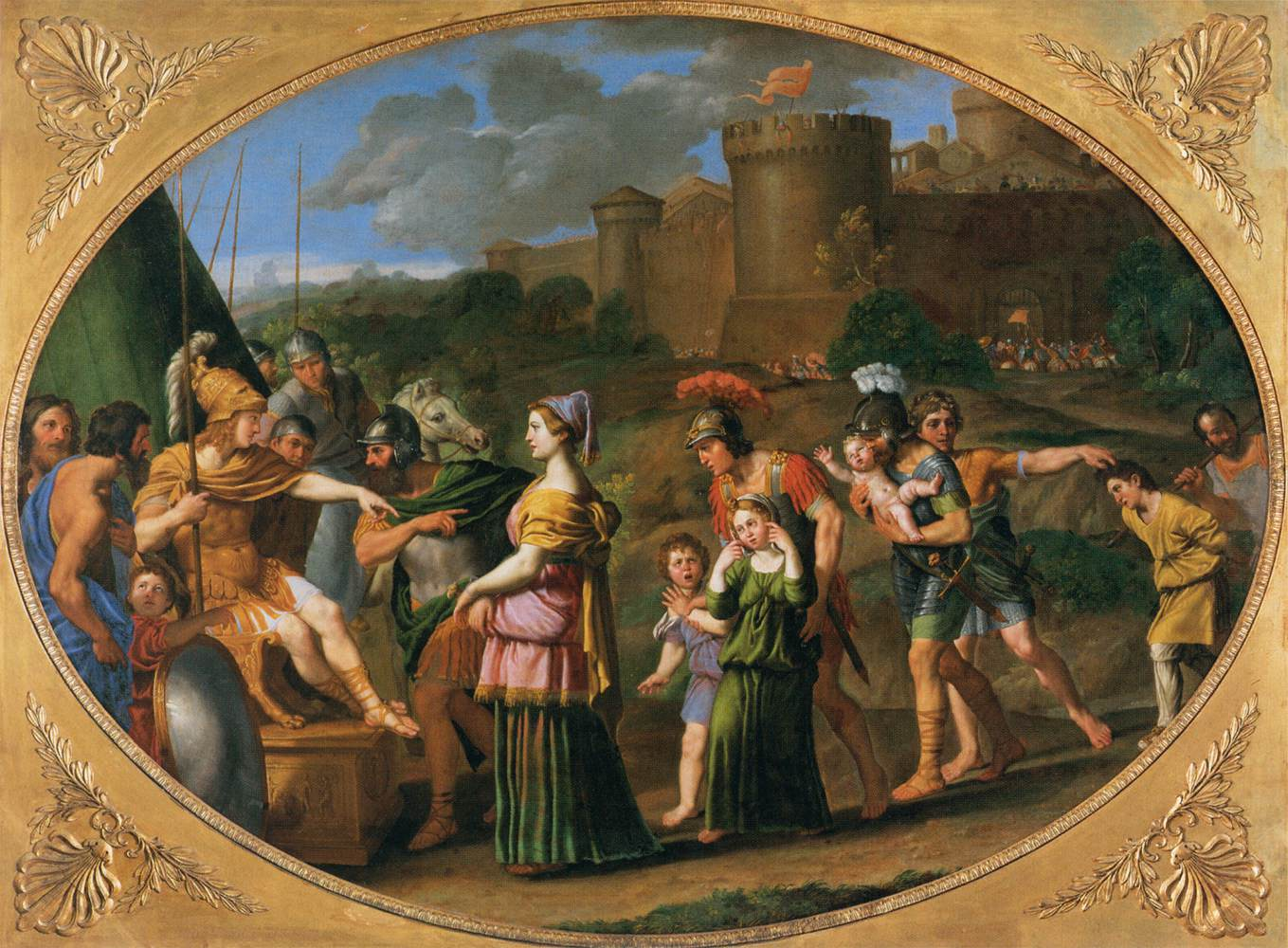 Domenichino; Timoklea
