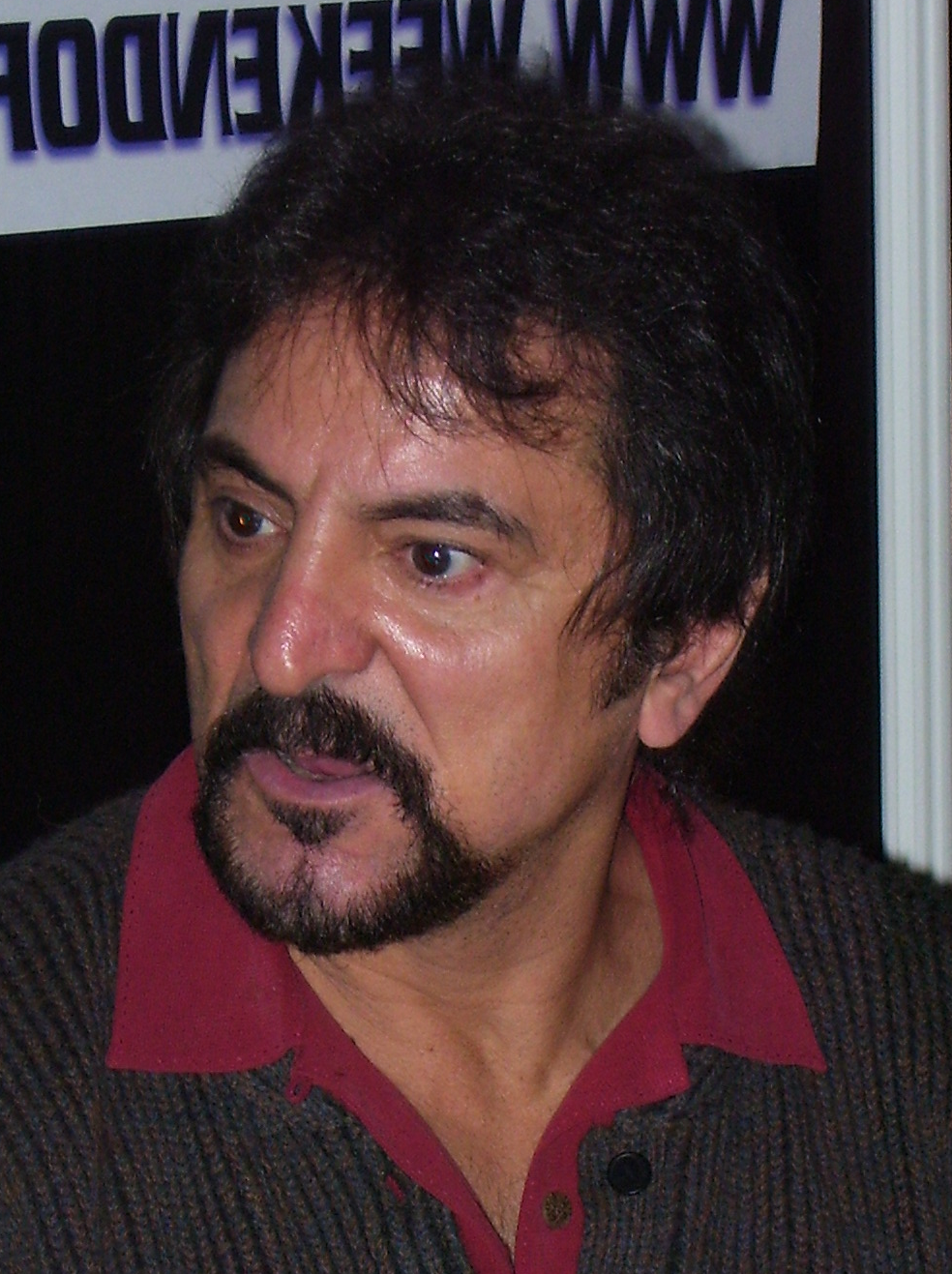 Image of Tom Savini from Wikidata