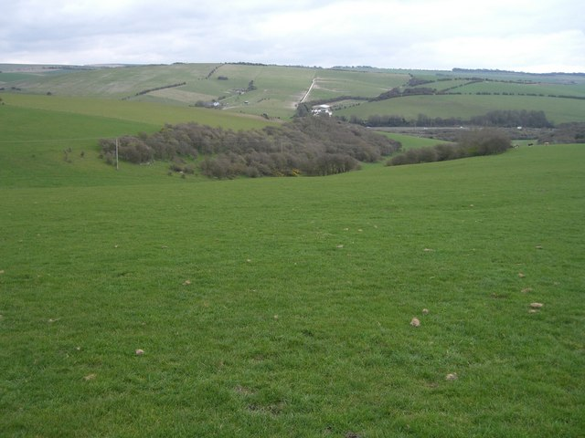 Towards South hill - geograph.org.uk - 388599