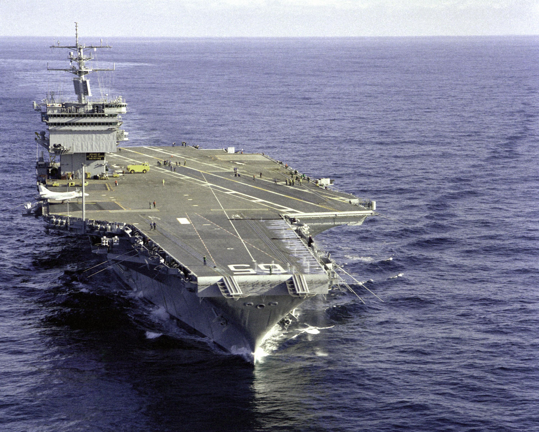 USS ENTERPRISE CVN-65 8X10 PHOTO 1985 GOLDEN GATE BRIDGE ...