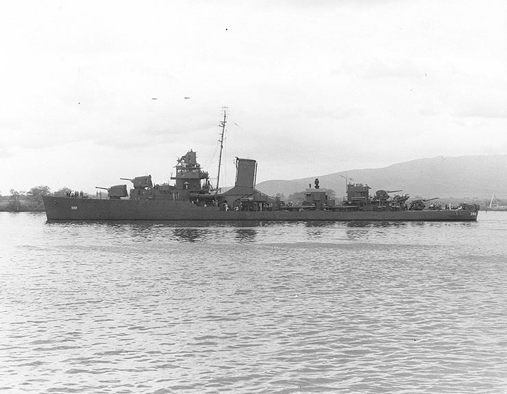 USS Patterson (DD-392)