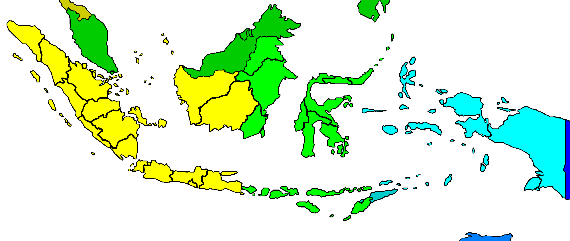 Time In Indonesia Wikiwand - Philippines time zone map