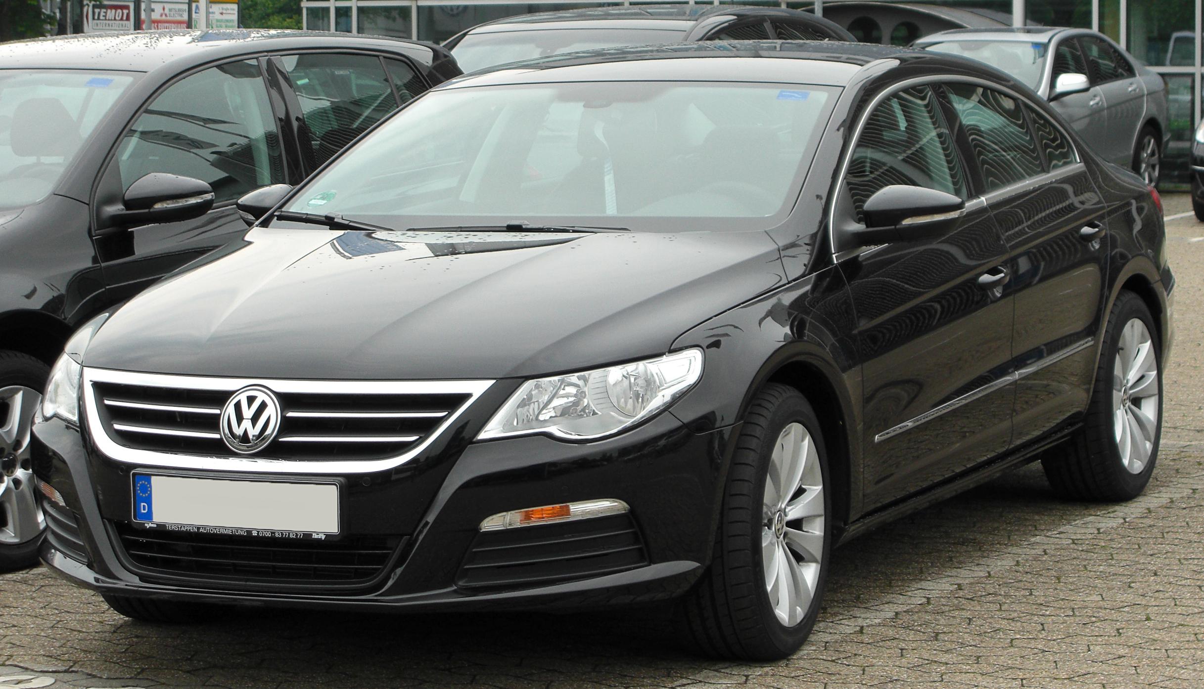 File:VW Passat CC front 20100612.jpg