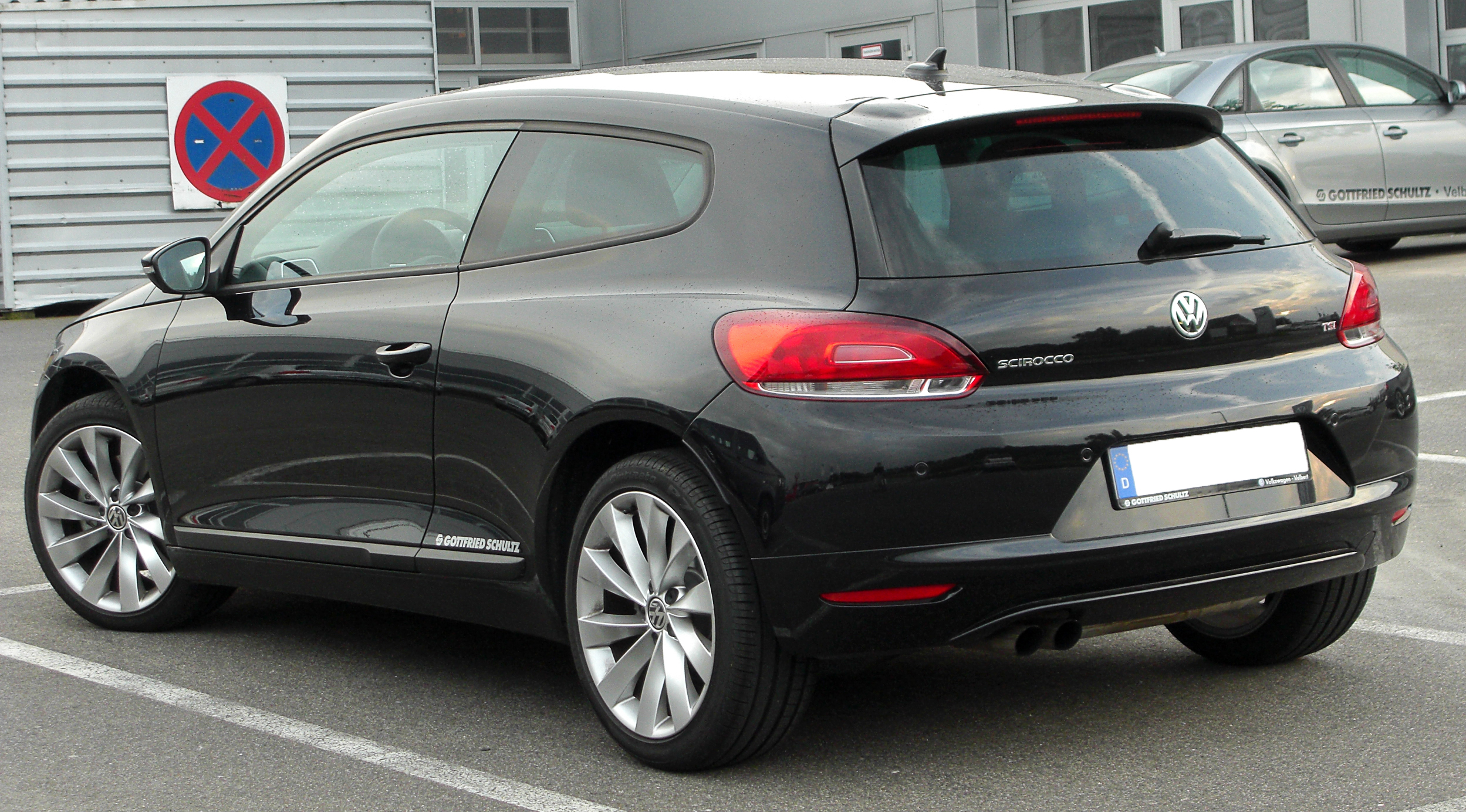 file vw scirocco iii 1 4 tsi rear wikimedia commons. Black Bedroom Furniture Sets. Home Design Ideas