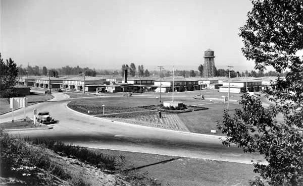 Vanport in 1943, five years before the flood