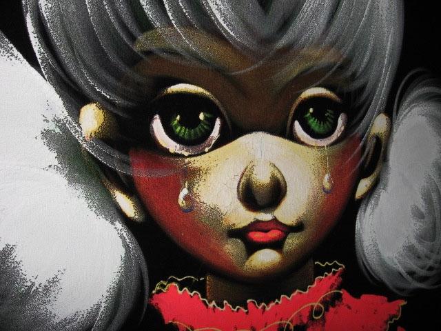 Velvet Painting Girl