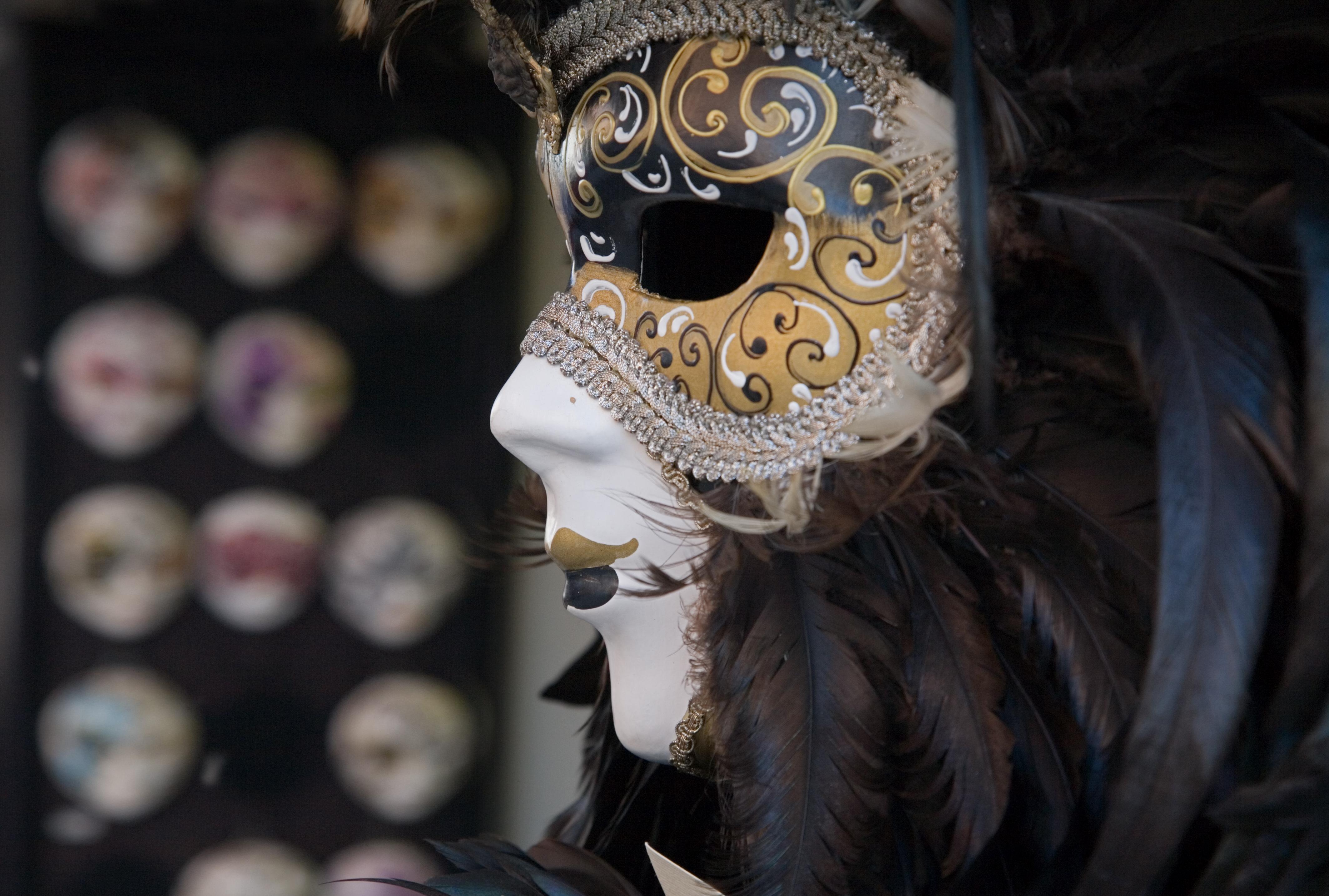 платья венецианская маска фотосессия том