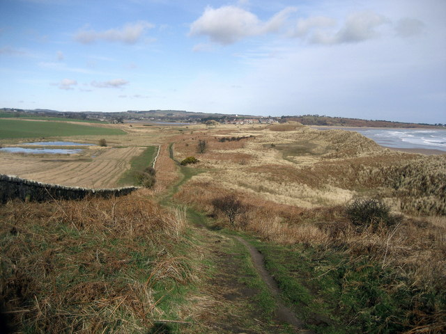 View northwards to Alnmouth - geograph.org.uk - 1201494