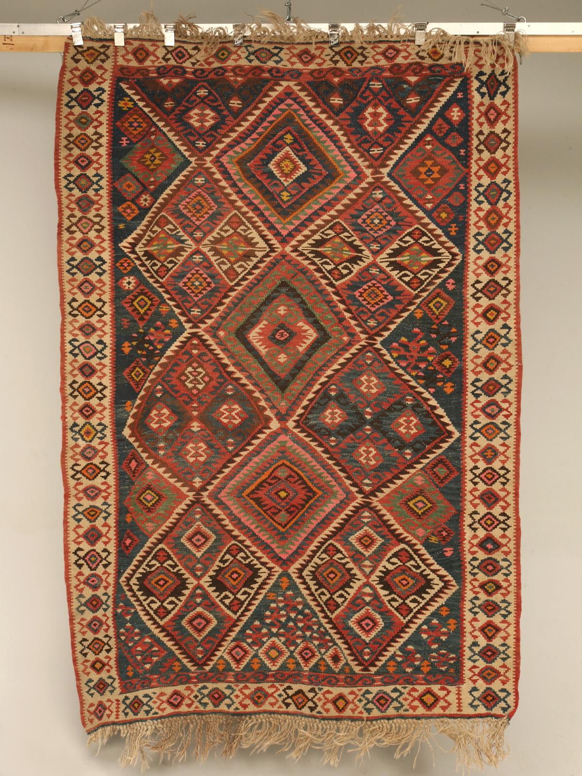 Filevintage turkish kilim geometric patterned rugjpg for Turkish rugs