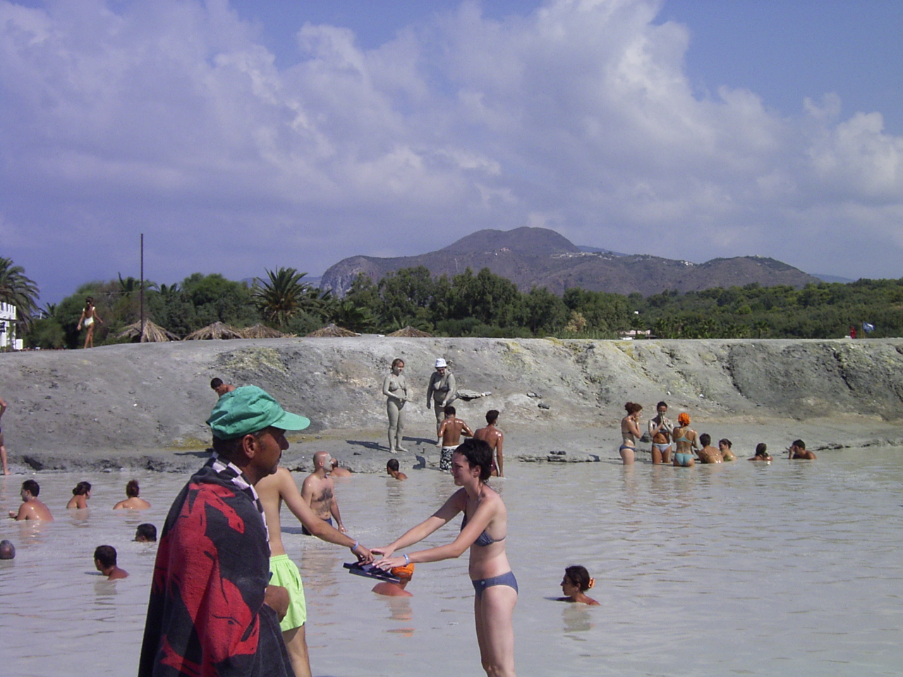 Panorama sull'isola