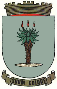de: Wappen von Windhuk, Namibia en: Coat of ar...