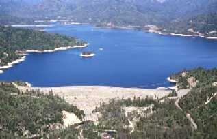 Whiskeytown Dam Dam in Shasta County, California, United States