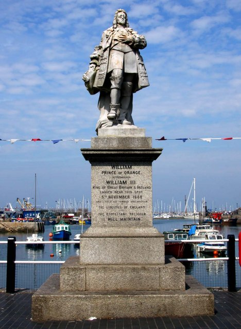 Prince Of Orange Statue Brixham Wikipedia
