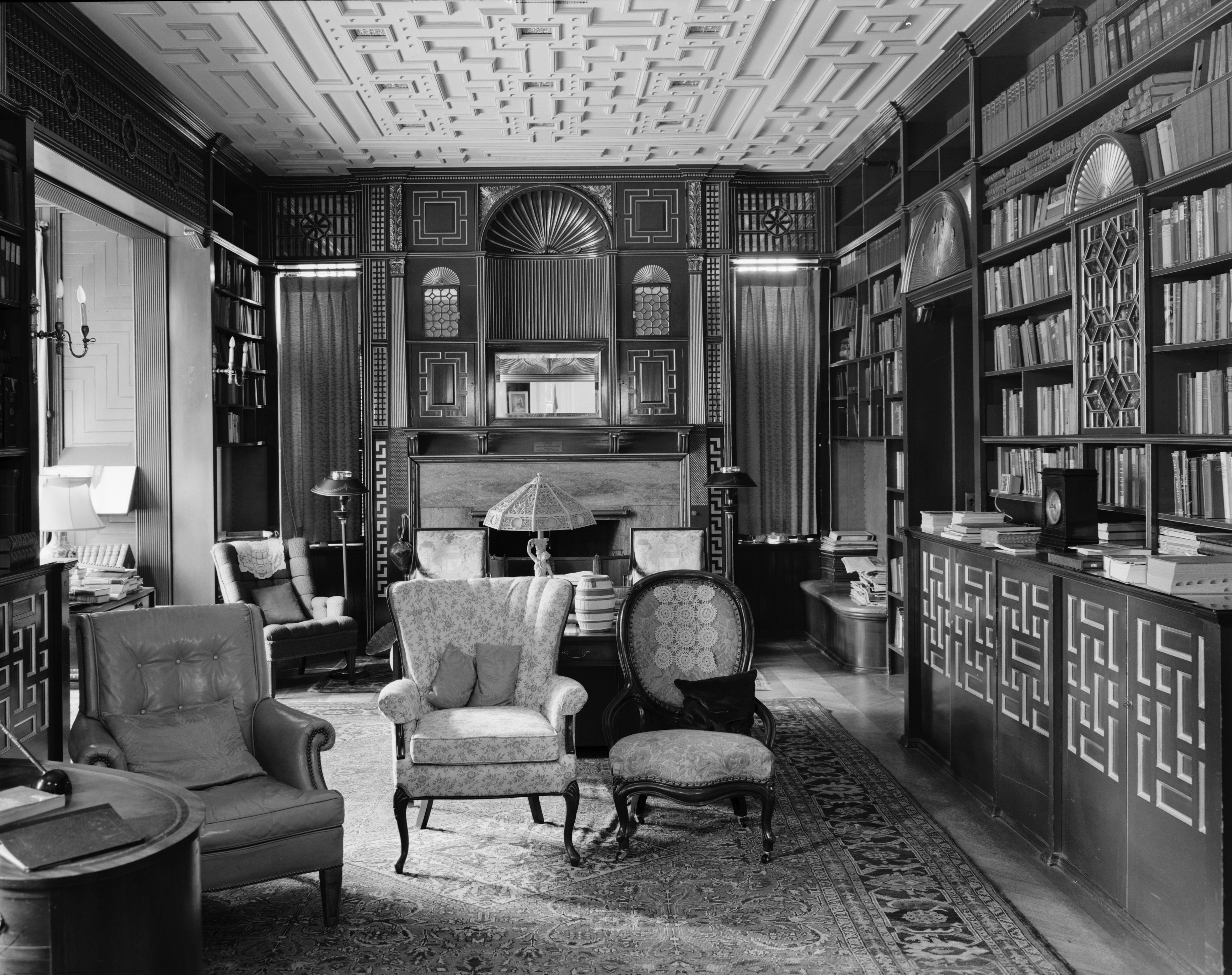 File William Watts Sherman House Newport Ri Library
