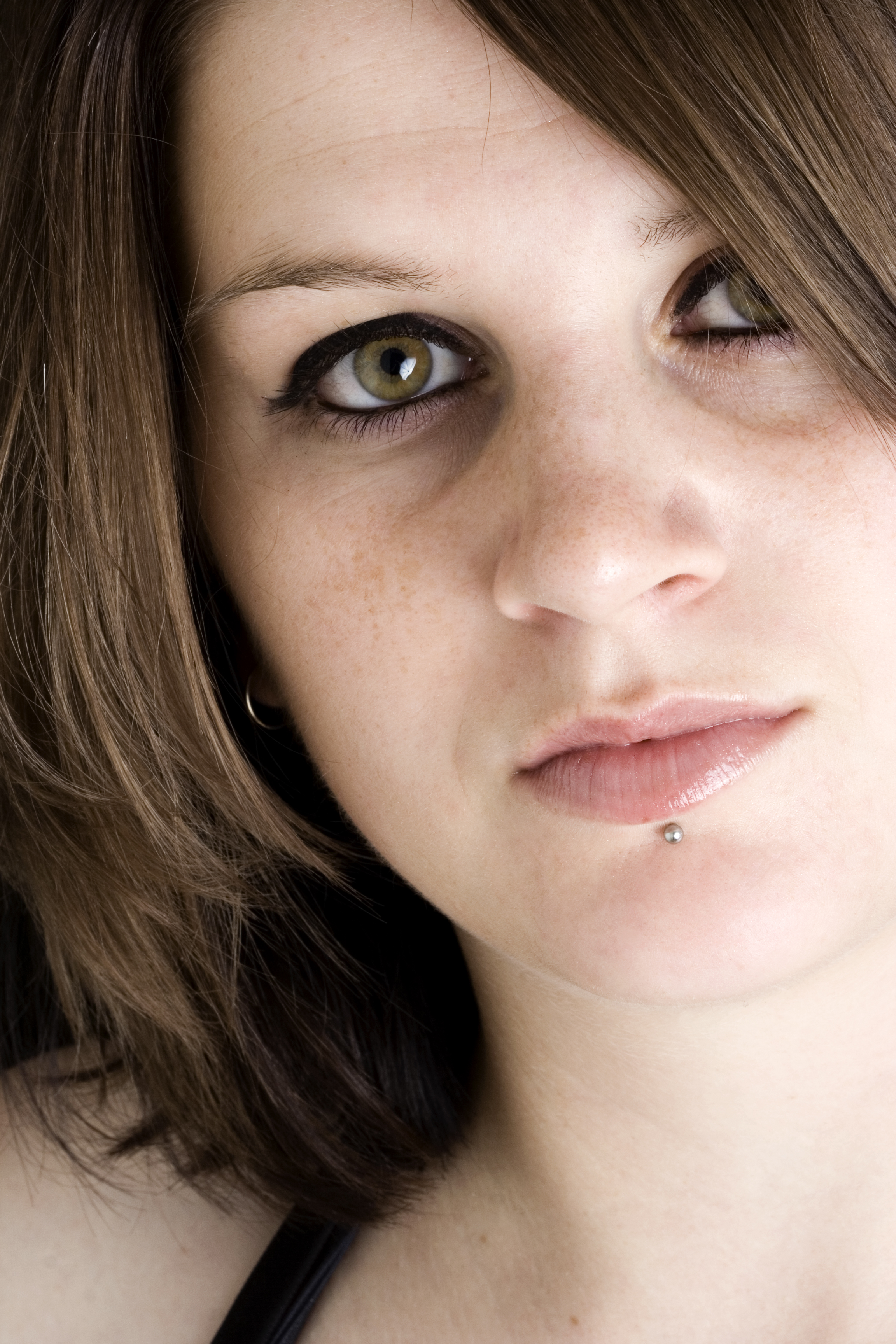 labret lippenpiercing
