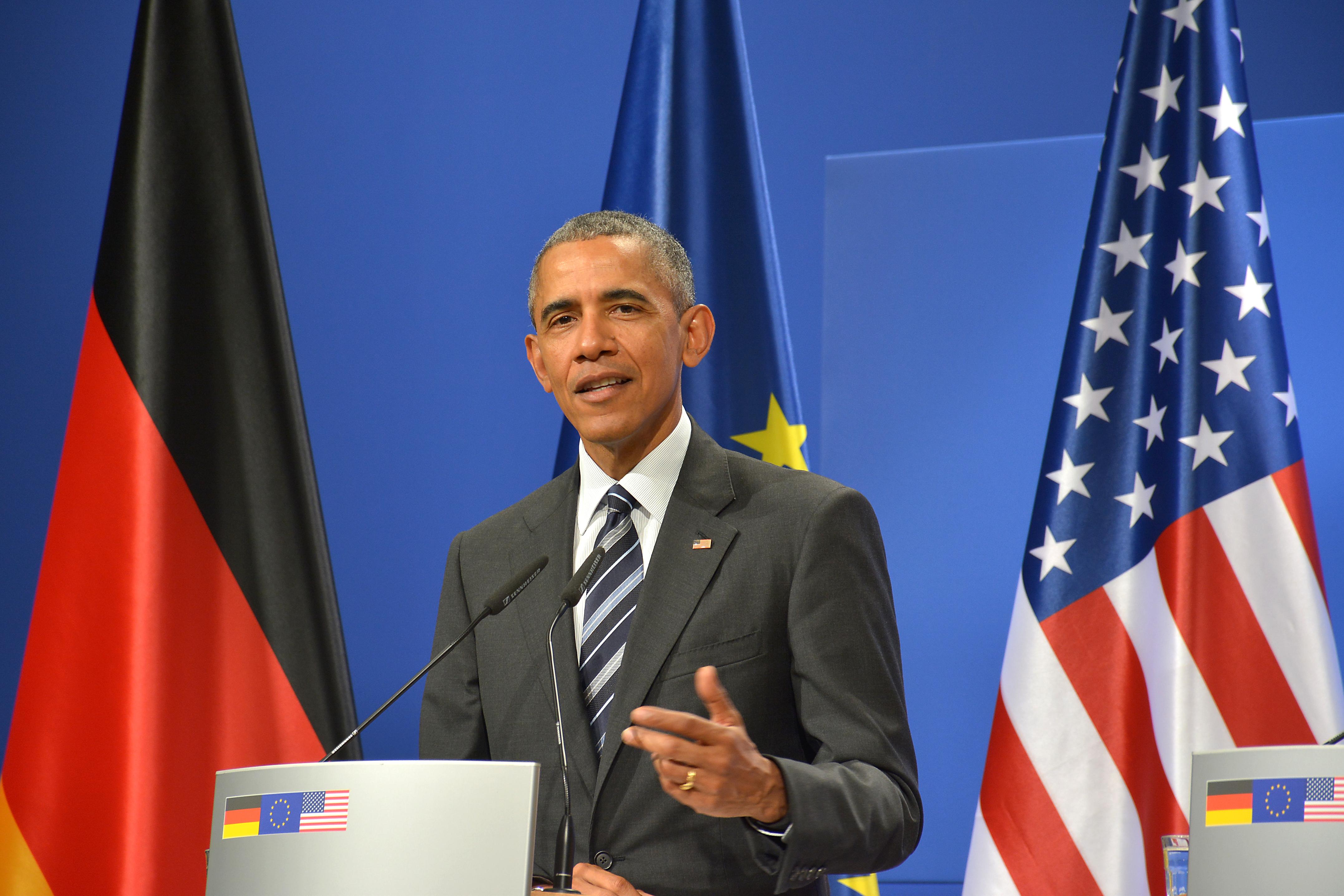 File:01-Besuch von US-Präsident Obama 2016 in Deutschland - Hannover ...