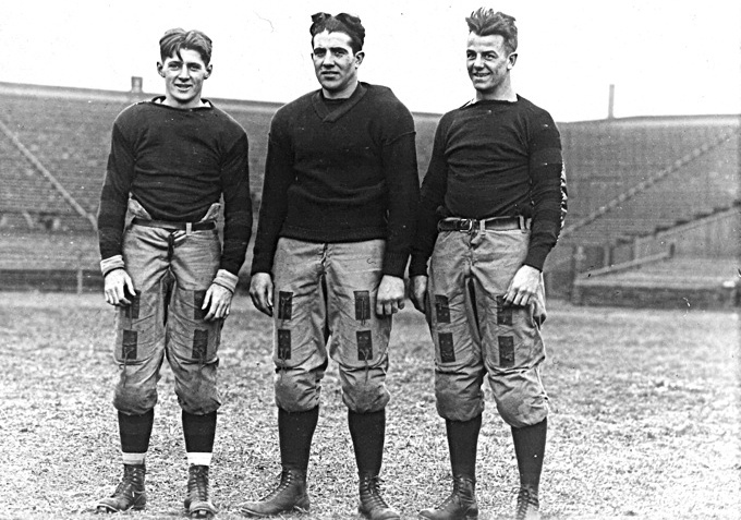 1916 Penn Quakers backfield, any given Sunday, famous sayings