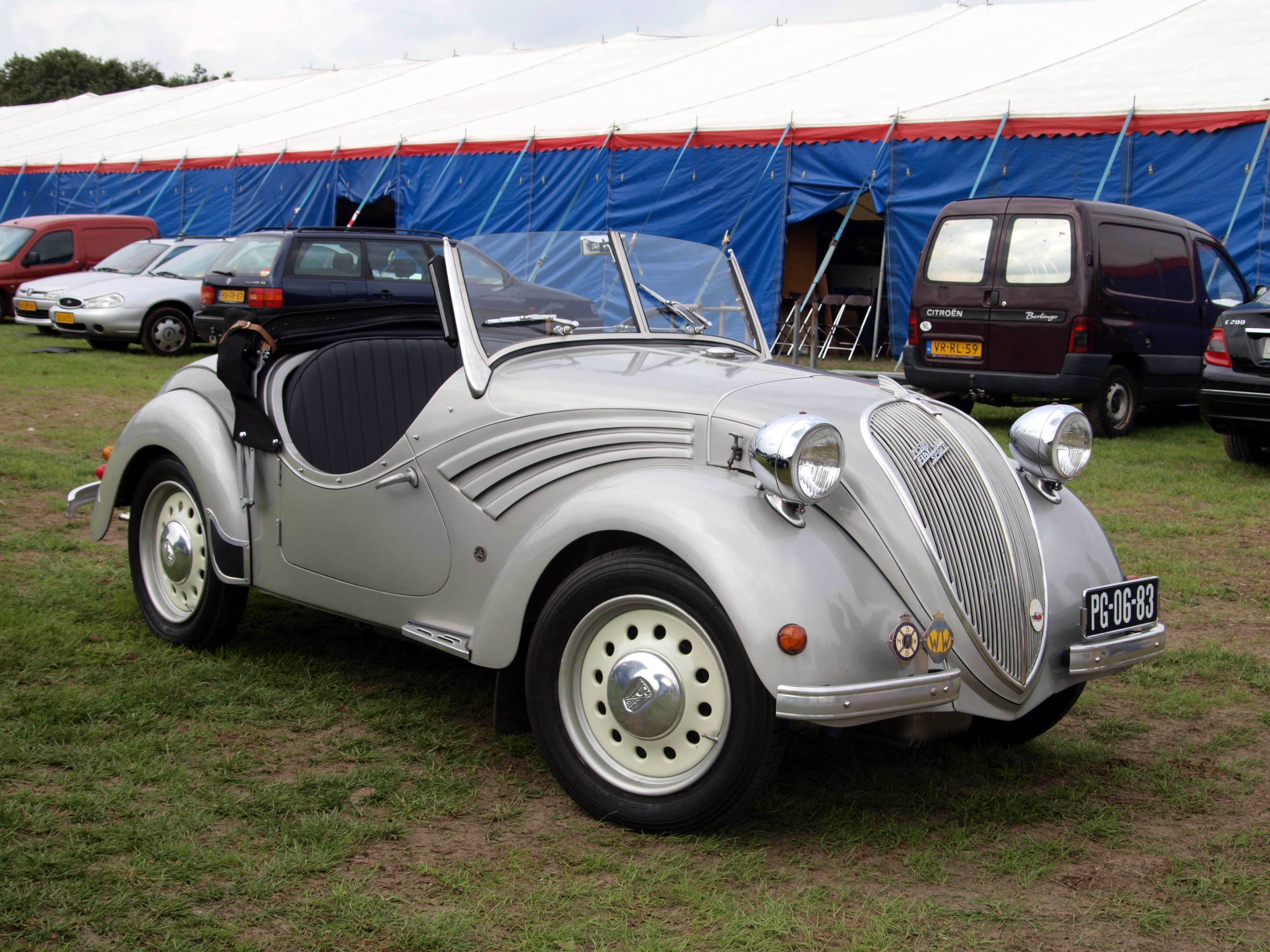 File 1940 Fiat 500 Topolino Dutch Licence Registration Pg