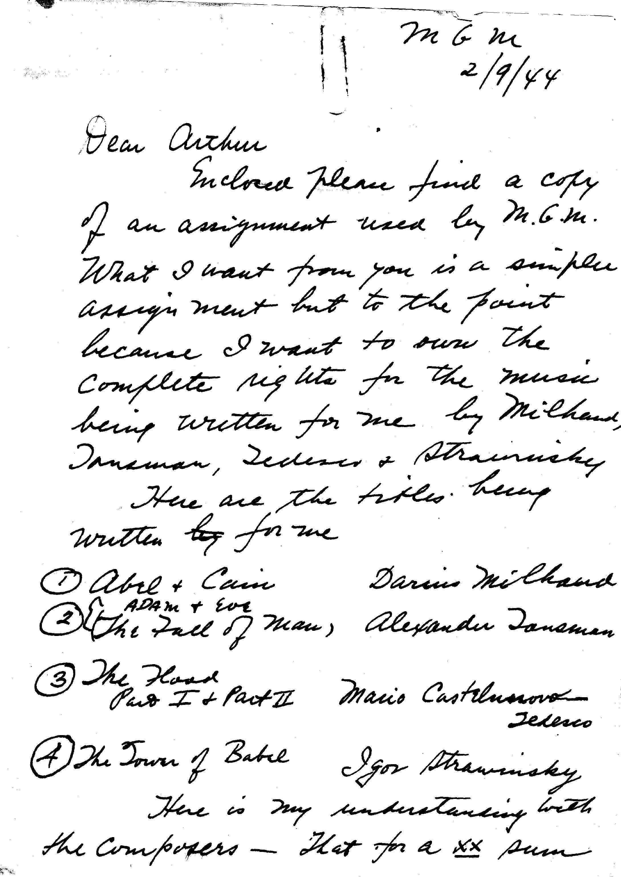 File 1944 02 09 letter Shilkret to his son p1 Wikimedia mons