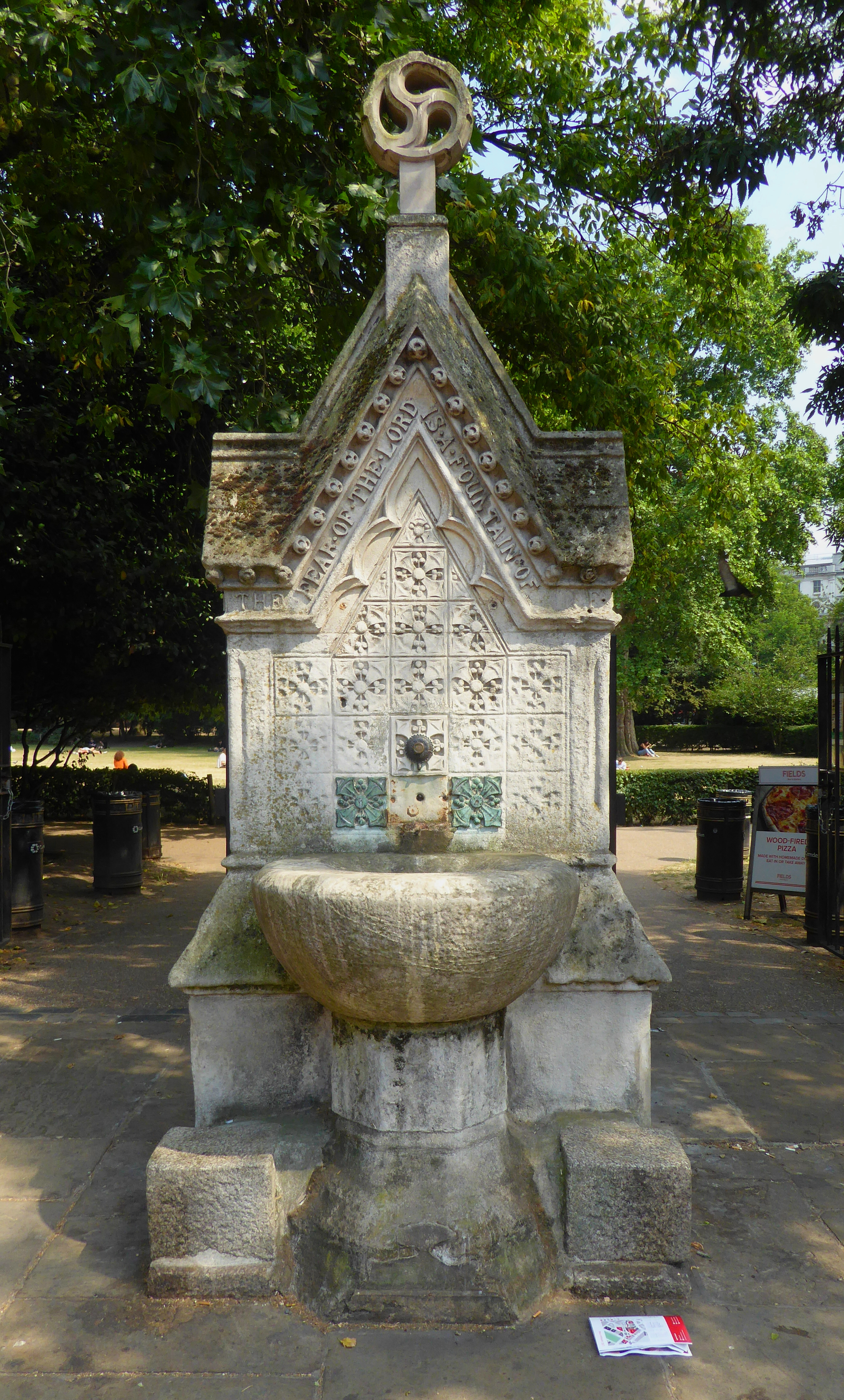 File19th Century Fountain In Lincolns Inn Fields