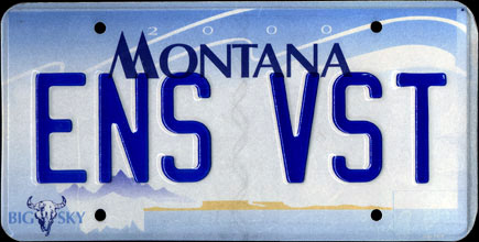 vehicle registration plates of montana. Black Bedroom Furniture Sets. Home Design Ideas
