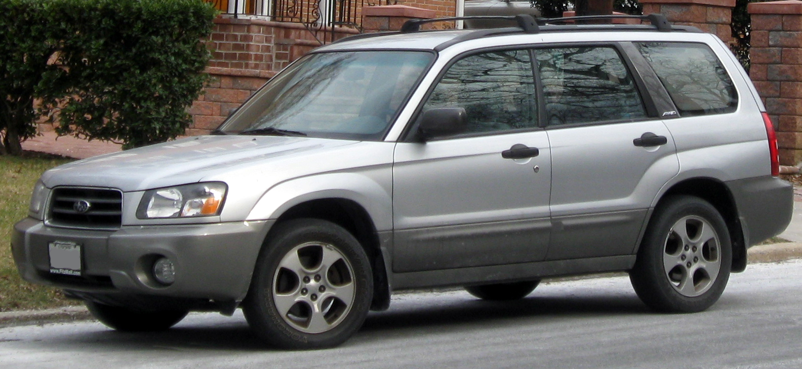 File 2003 2005 Subaru Forester 02 14 2012 Jpg Wikipedia