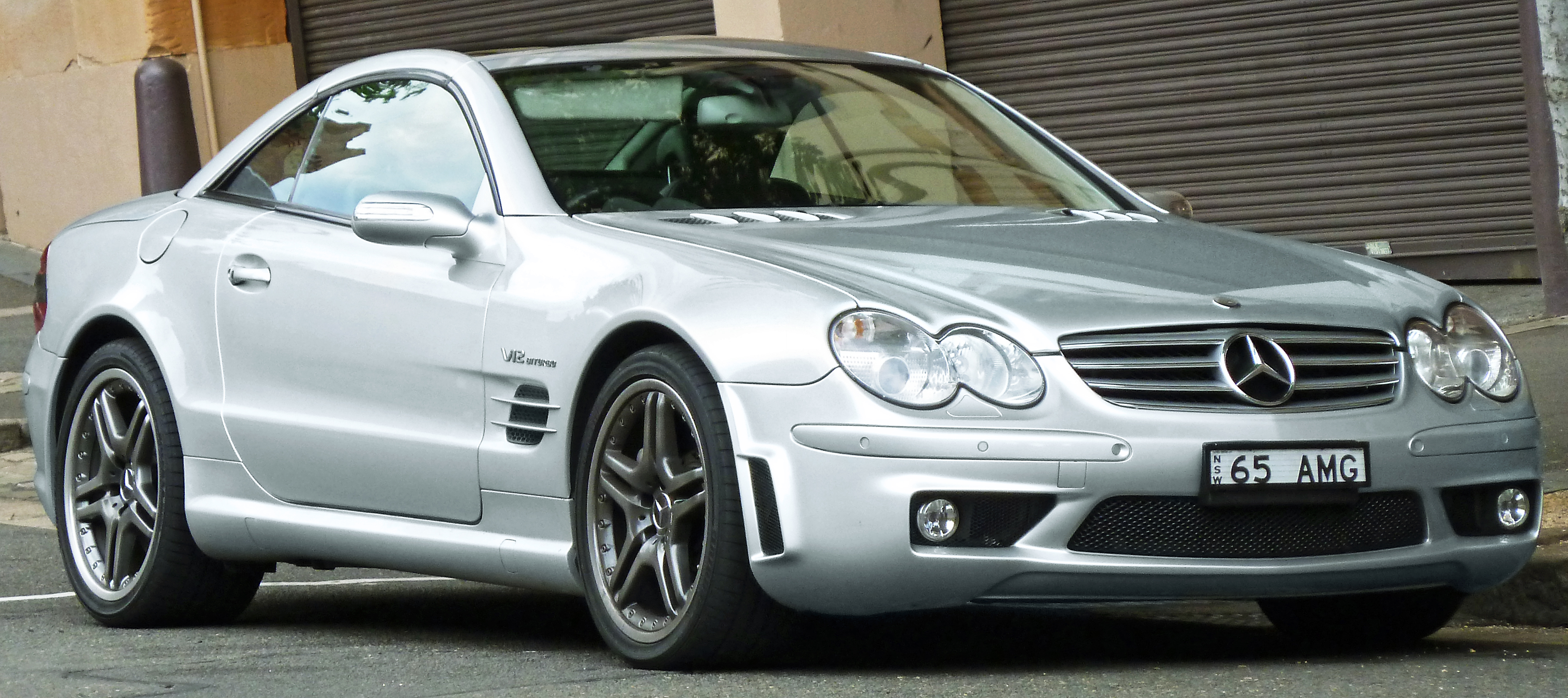 Automotive area 2011 mercedes benz sl r230 - File 2004 Mercedes Benz Sl 65 Amg R 230 My05 Roadster