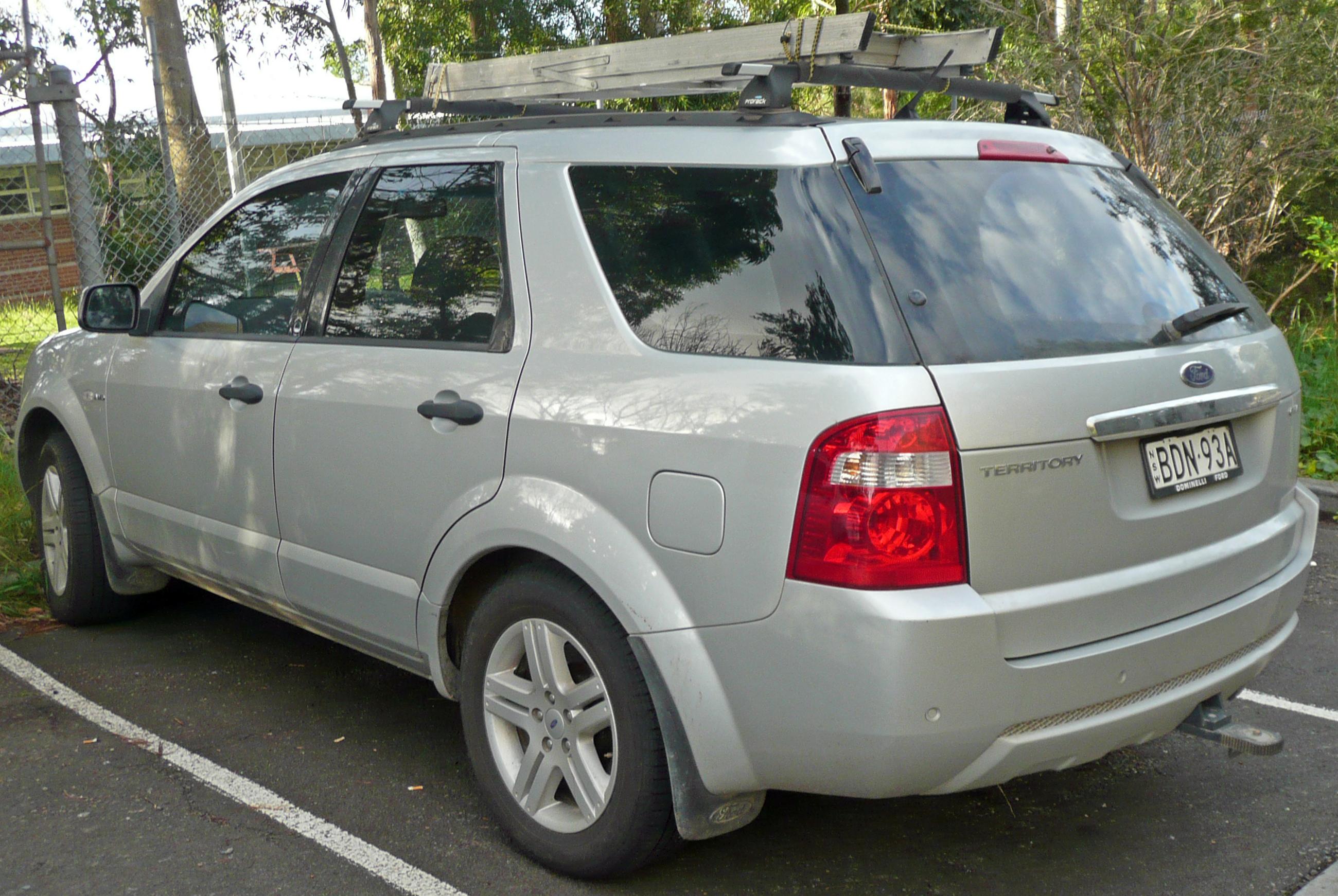 File:2007 Ford Territory (SY) Ghia AWD wagon (2009-05-