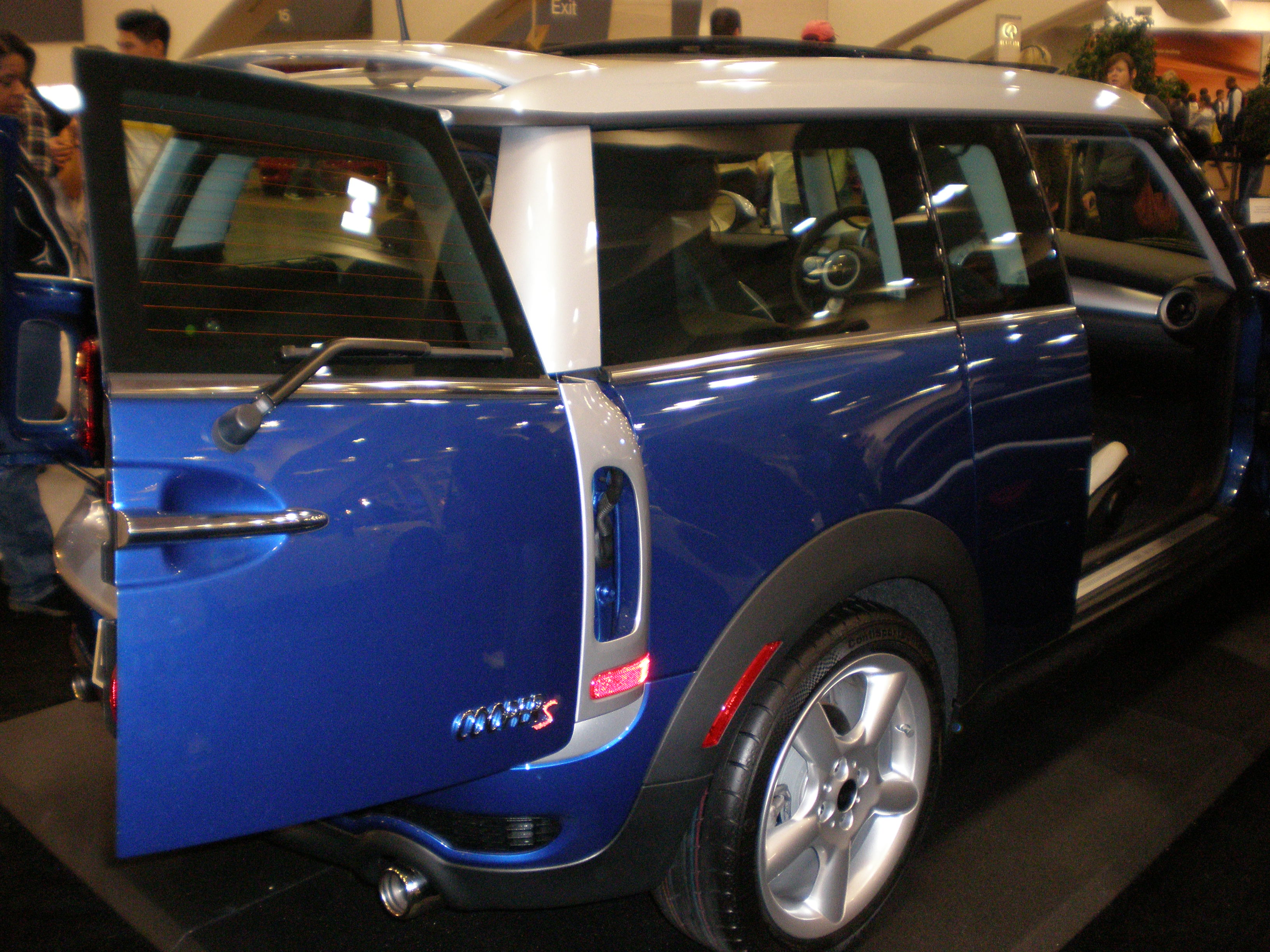 File2009 Blue Mini Cooper S Clubman Right Sidejpg Wikimedia Commons