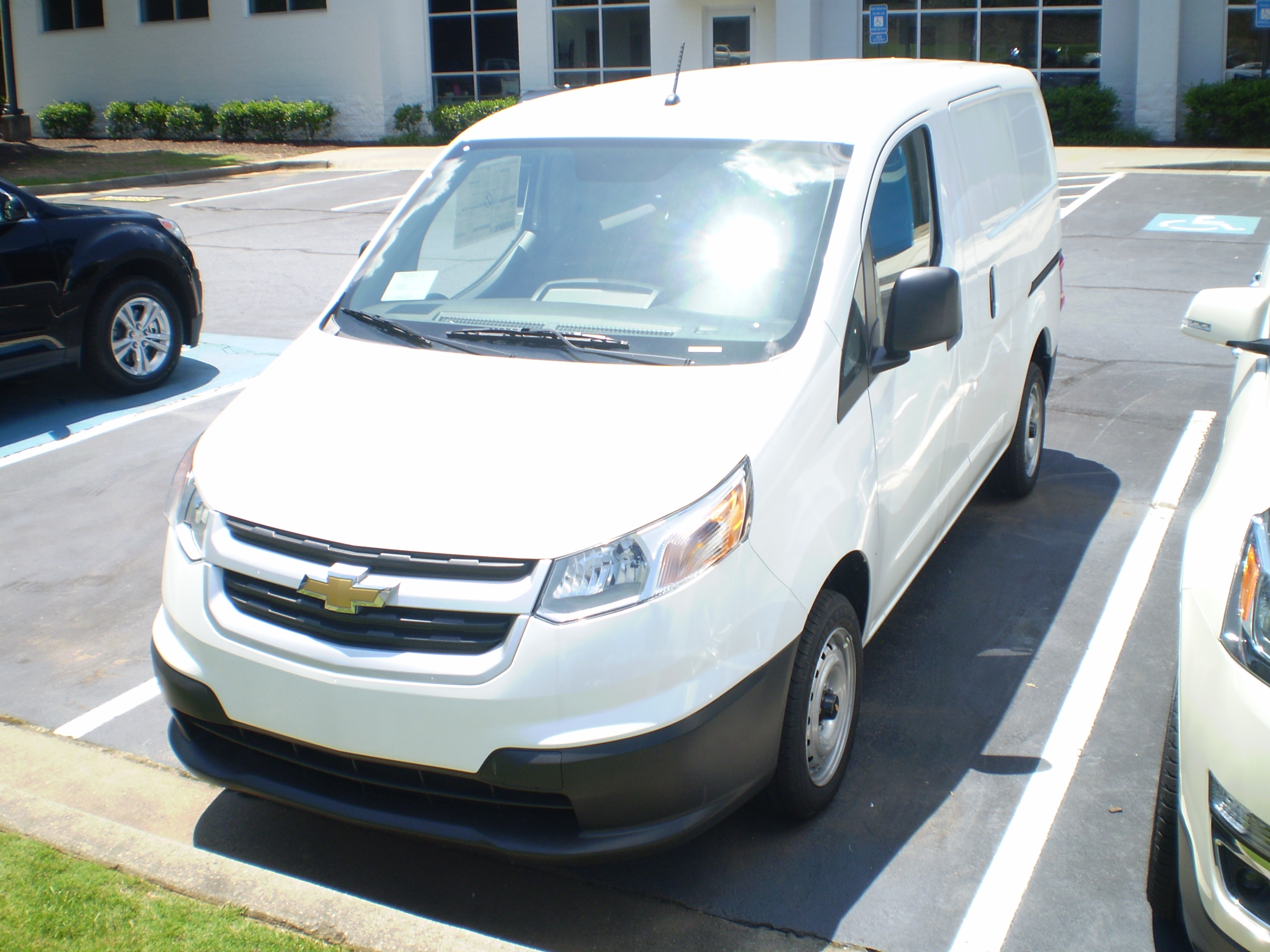 File 2015 Chevrolet City Express Ls Front Jpg Wikimedia Commons