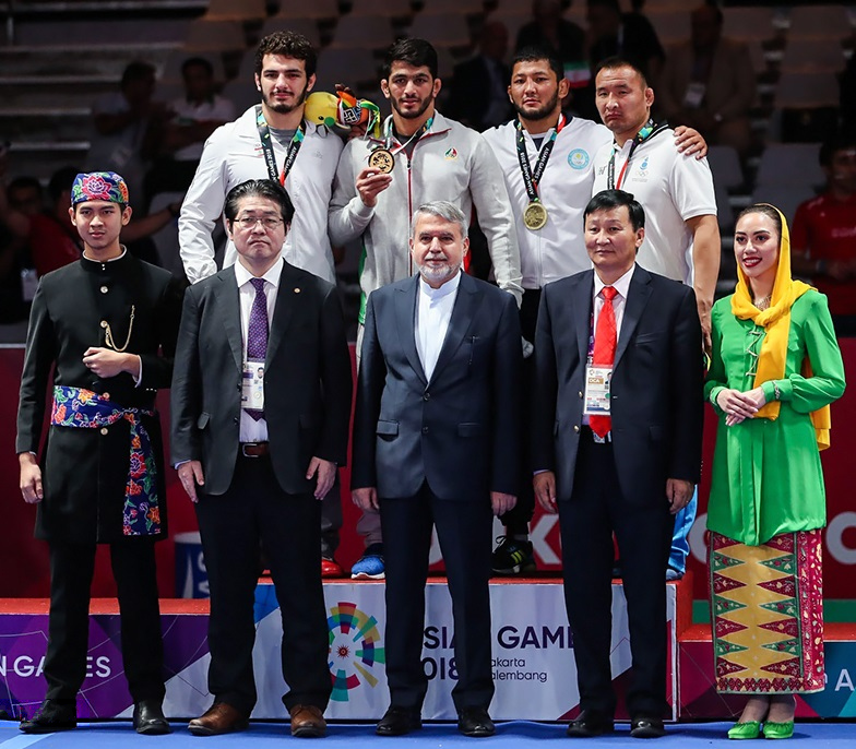 Wrestling At The 2018 Asian Games