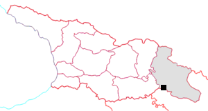 FilepxGeorgia Kakheti Gareja Mappng Wikipedia - Georgia kakheti map
