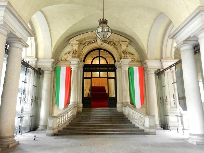 Entrée dans la musée de la Réunification de Turin - Photo de Geobia