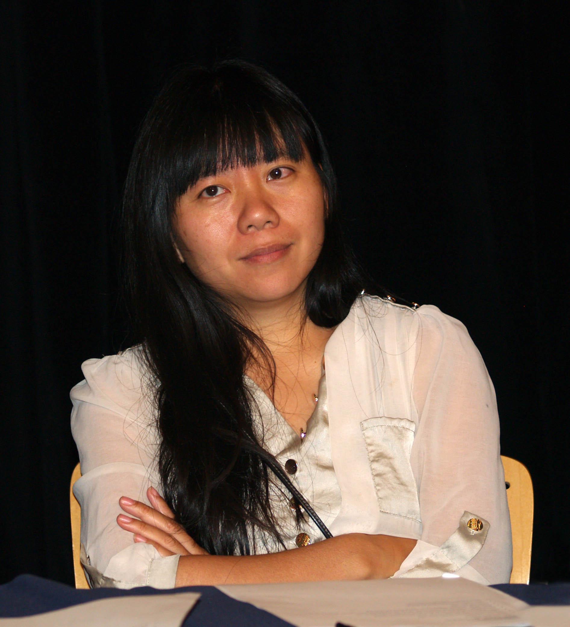 Xiaolu Guo in 2014.