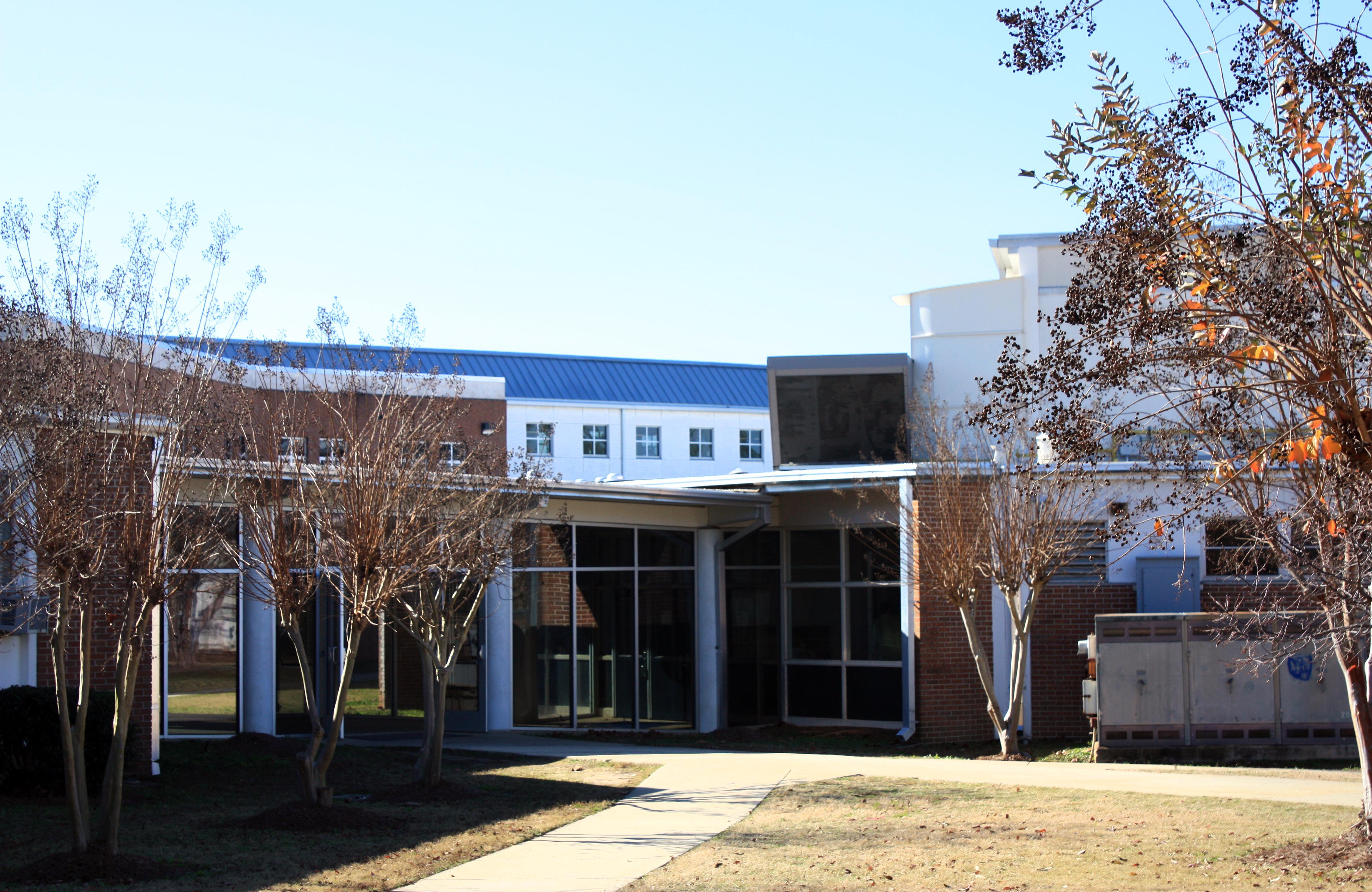 Buildings on The Auburn High
