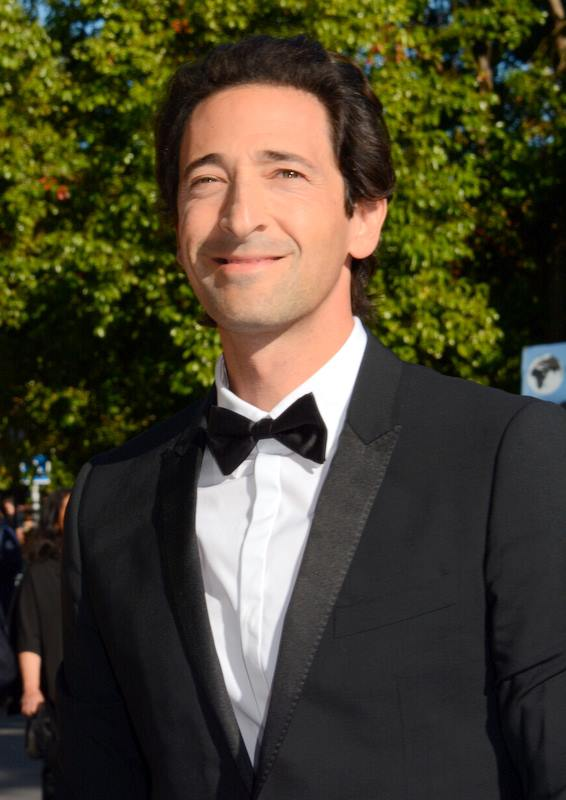 ... Brody and mother Sylvia Plachy, 185 cm tall Adrien Brody in 2016 photo Adrien Brody