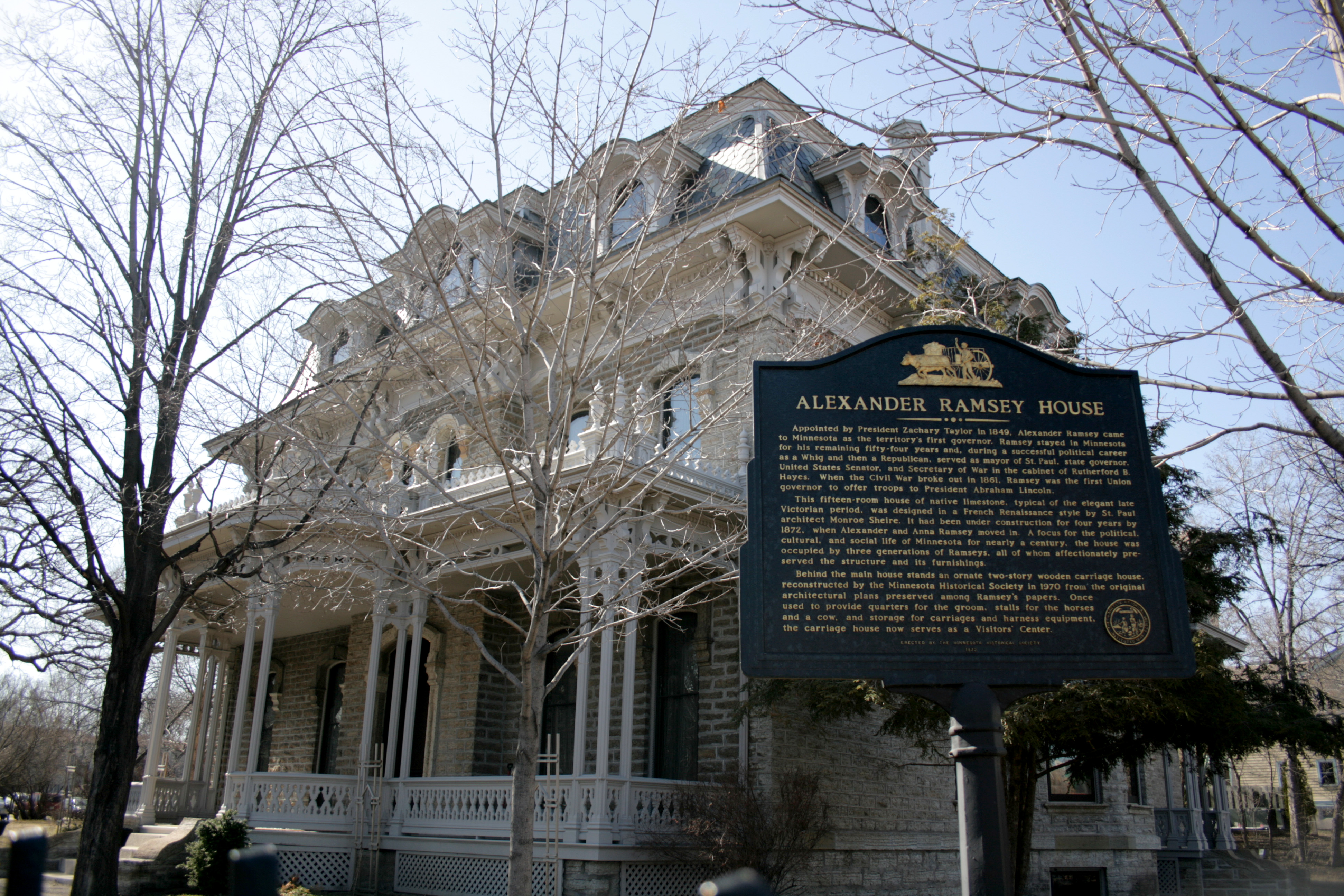 Build A Victorian House File Alexander Ramsey House Jpg Wikimedia Commons
