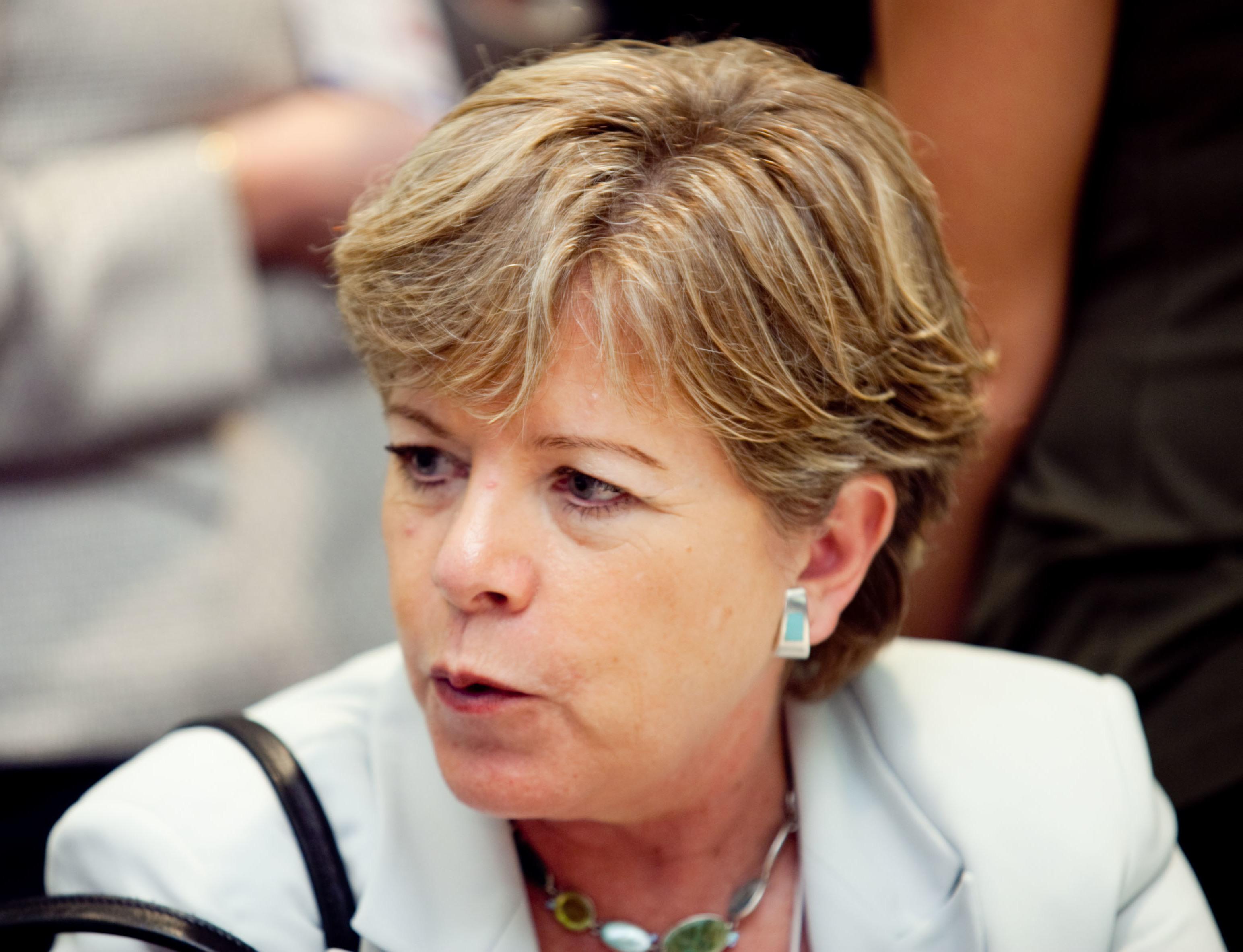 Alicia Bárcena fue elegida secretaria ejecutiva en julio de 2008.