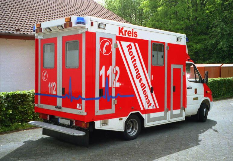 Foto: Rettungswagen