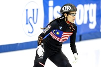 Anja Chong Singaporean figure and speed skater
