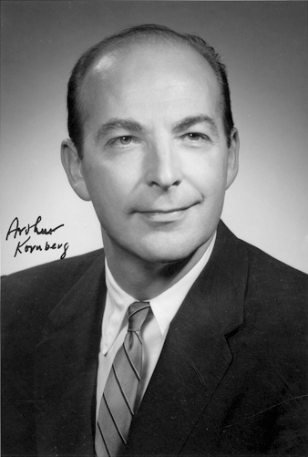 the early life and education of arthur kornberg Roger d kornberg roger kornberg in early life edit kornberg was born in st louis arthur kornberg found the first enzyme that could make dna.