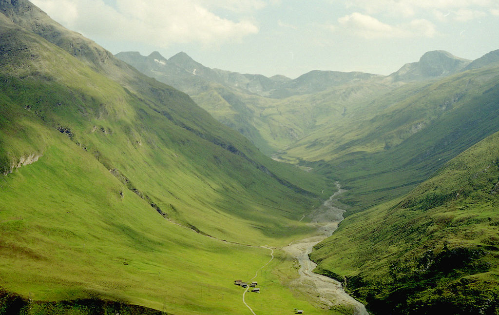Avers valley