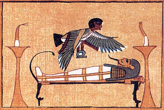 La Reencarnación y la Filosofía Sêshen - Sahú Ari Merek BD_Mummy_and_Ba