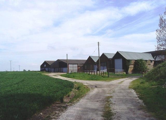 Barns at East Hall, Paglesham - geograph.org.uk - 162750